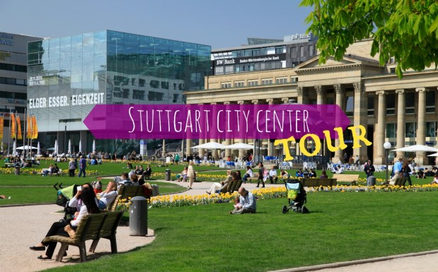 Stuttgart city center tour for you and your visitors