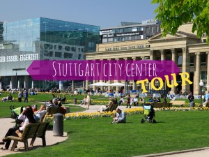 Stuttgart city center walking tour
