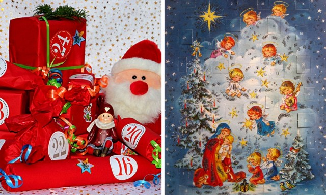 German Christmas traditions Advent calendar