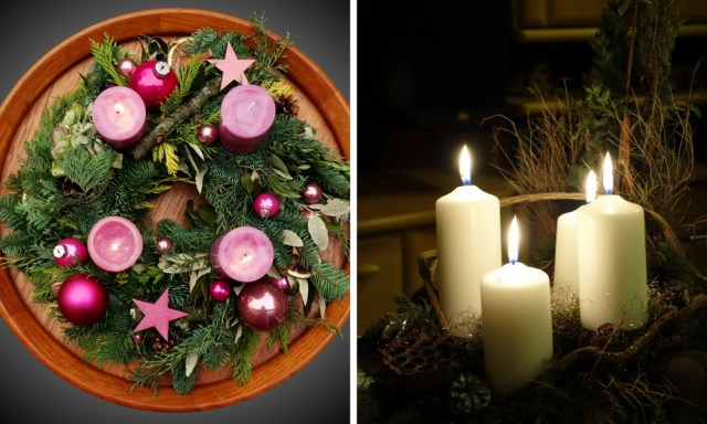 German Christmas traditions: Advent wreath