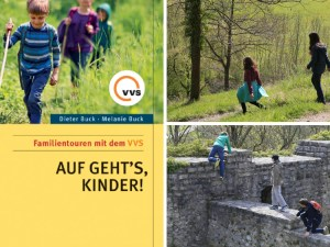 Hiking with kids in Stuttgart.
