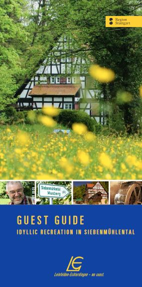 The new guest guide featuring Siebenmühlental is free of charge.