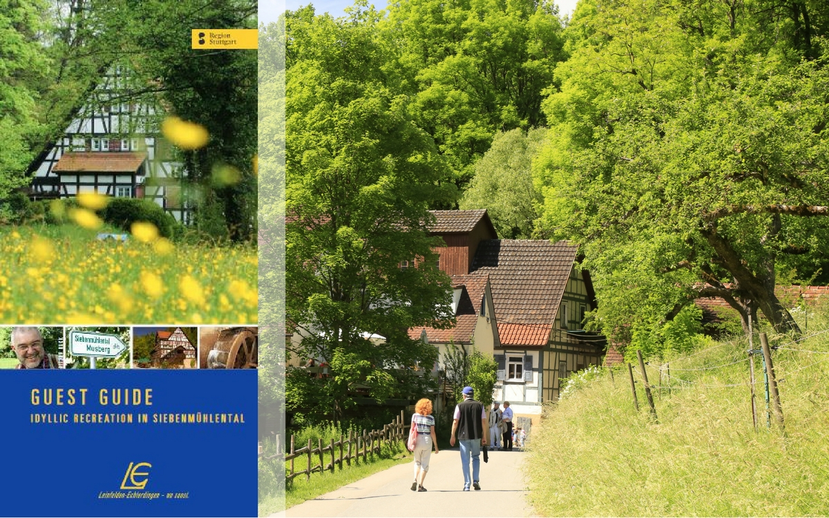 A new guest guide is featuring the Siebenmühlental.