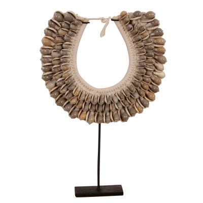 F3 shell shell Necklace voorkant