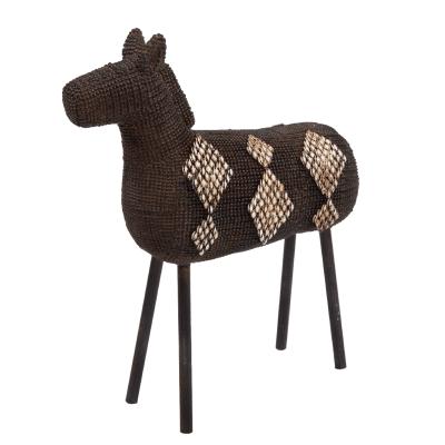 decobeeld bronskleurig paard