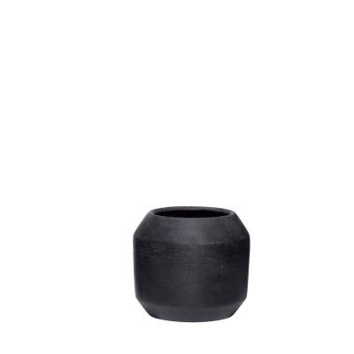 plantenpot zwart S