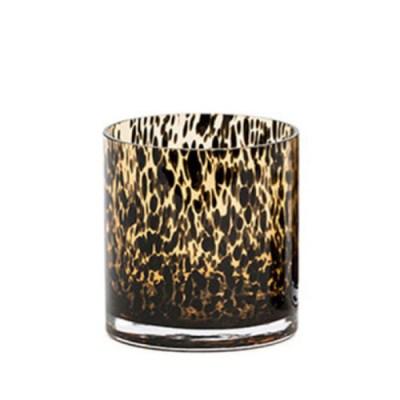 Waxinelichthouder luipaard M