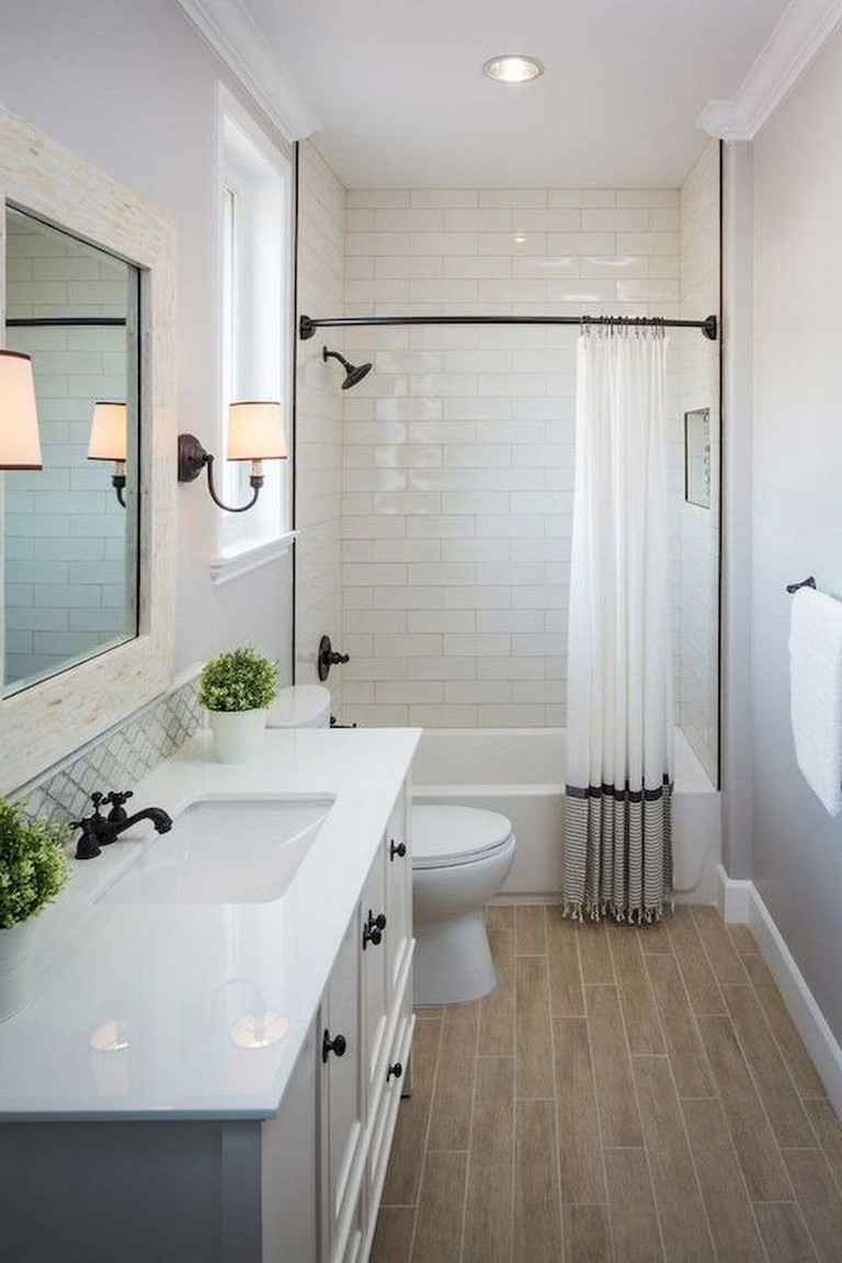 55 Beautiful Small Bathroom Ideas Remodel - Page 8 of 60 on Bathroom Ideas Small  id=18301