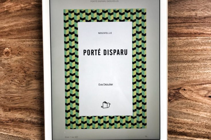 "The short story ""Porté Disparu"" by Eva Dézulier"