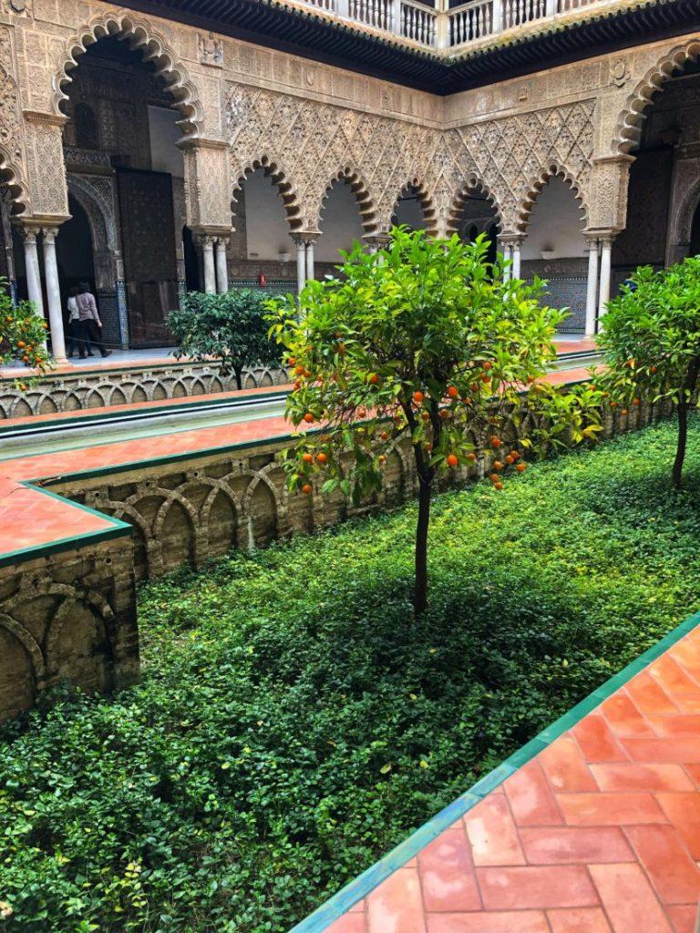 Jardin intérieur Alcazar