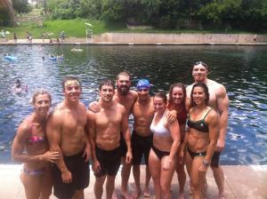 Barton Springs Swim WOD