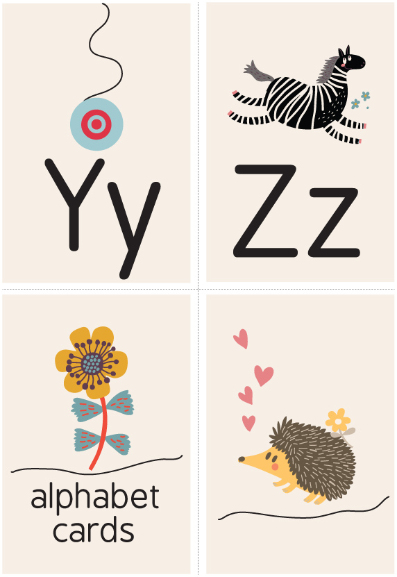 Y Z Alphabet Printables Livingandloving