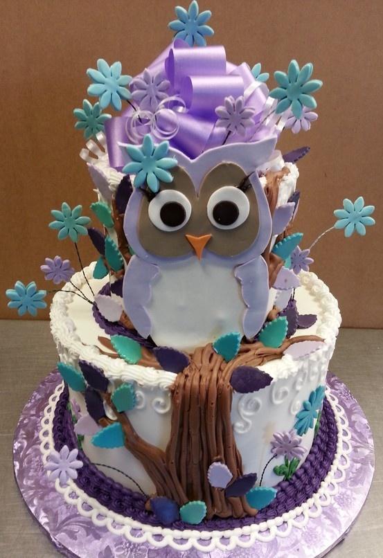 20 Owl Themed Birthday Cakes We Love Livingandloving