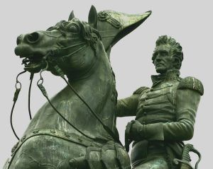 Andrew Jackson is a symbol, at least to me, of authentic, tough, and straighforward honesty in leadership.