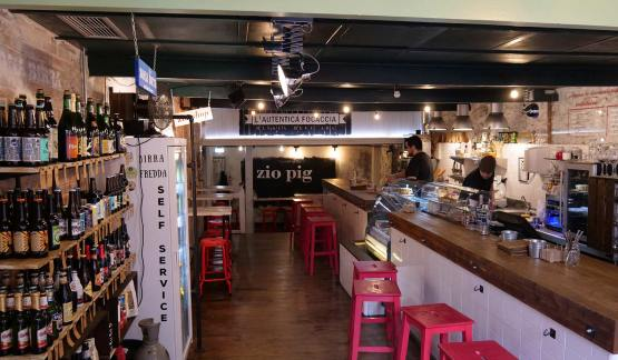 Zio Pig, italian products in Gijon