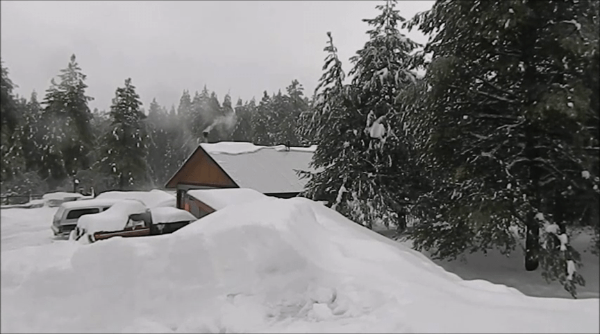 Why roof pitch is important when building in snow country