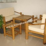 Bamboo Living Room Rome Set