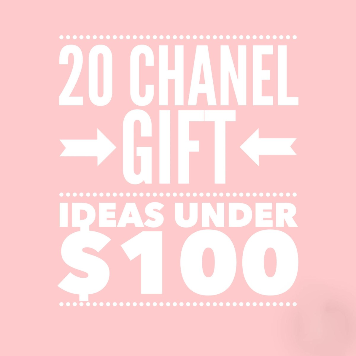 20 Chanel Gift Ideas under $100