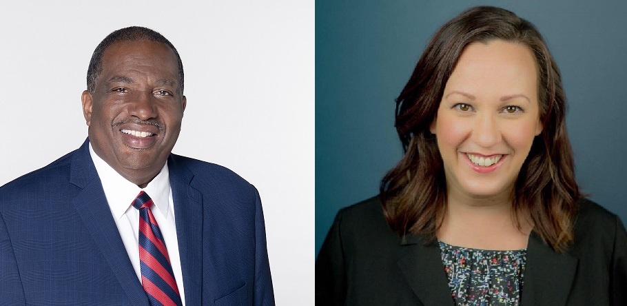 Royce West and MJ Hegar have a Q&A with the FEDDs