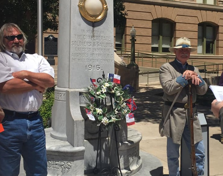 In Georgetown, TX, The Battle Against The Confederate States Rages On