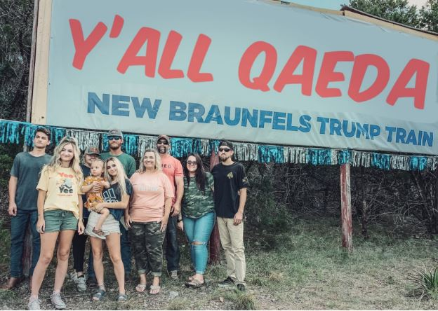 Trump Train New Braunfels: The Klan Rides Again
