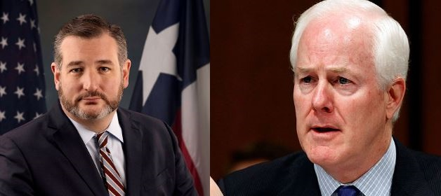 John Cornyn and Ted Cruz Vote Against American Families, Rejecting President Joe Biden's Stimulus Package