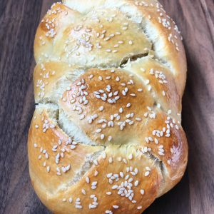 Fluffiest Sourdough Challah Bread