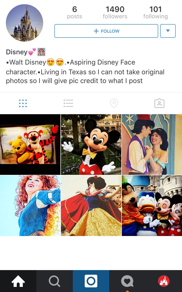 Disney Fans On Instagram Top Five Ways To Grow On Instagram