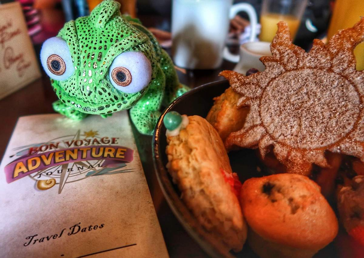 Review: Rapunzel Bon Voyage Character Breakfast in Disney World