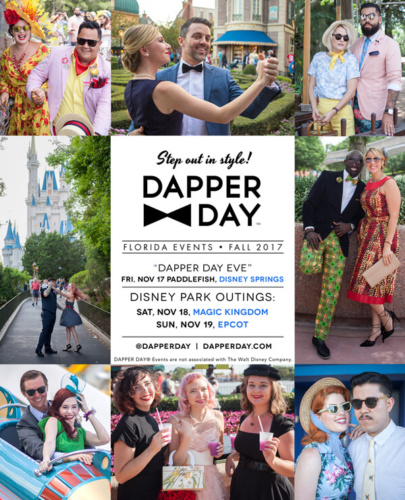 Fall Dapper day Disney World 2017
