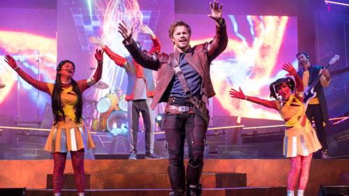 Guardians of the Galaxy Live at Epcot Incredible Summer at Disney World