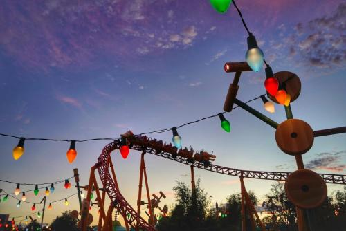Disney World After Hours Event Party Review Hollywood Studios Toy Story land