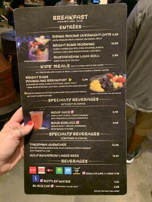 Docking Bay 7 food STAR WARS GALAXY'S EDGE IN WALT DISNEY WORLD