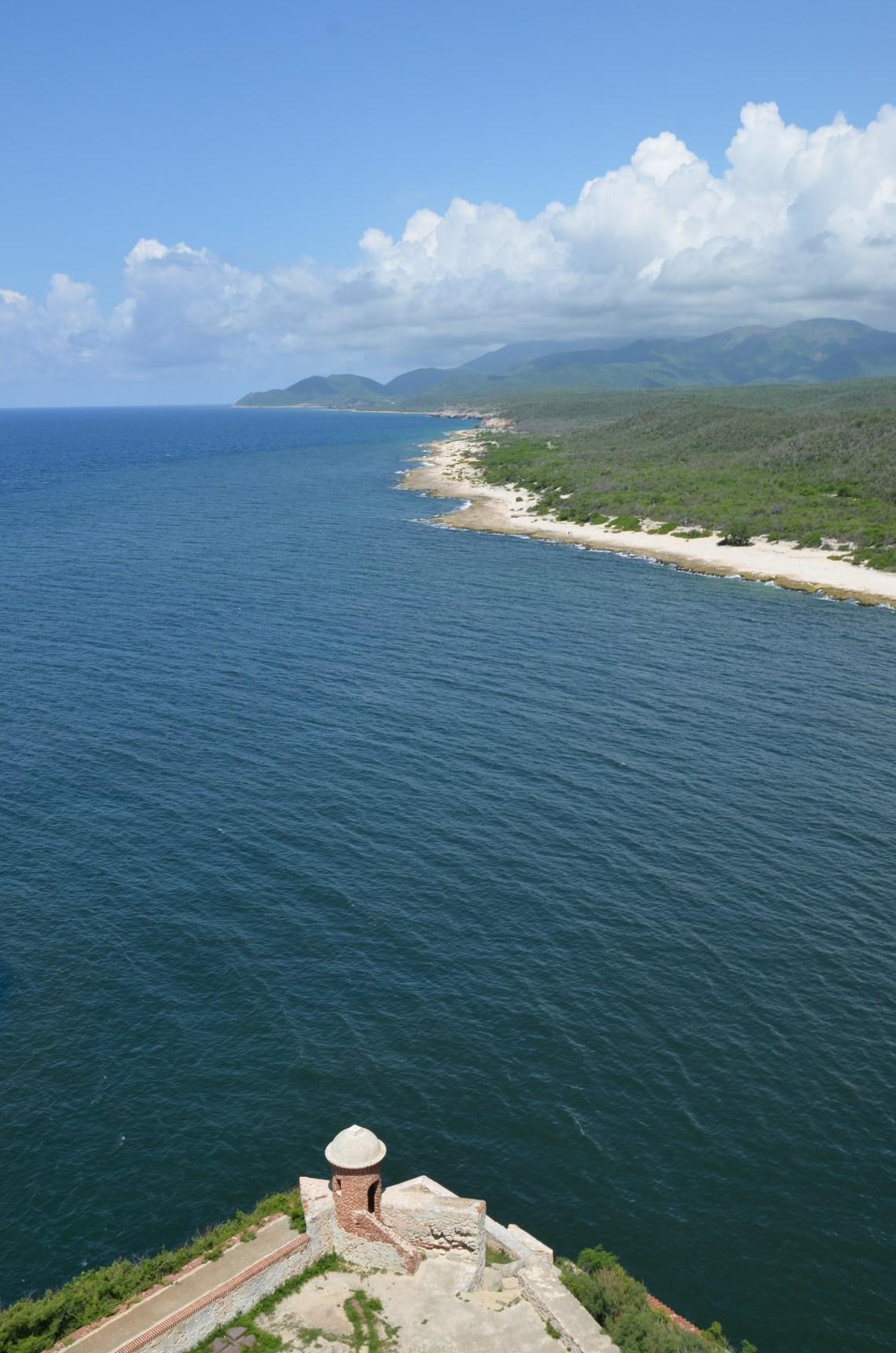 View from fort, Santiago de Cuba