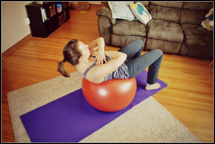 ball crunch with border