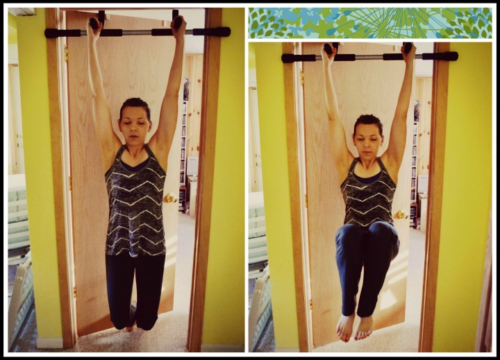 hanging leg collage