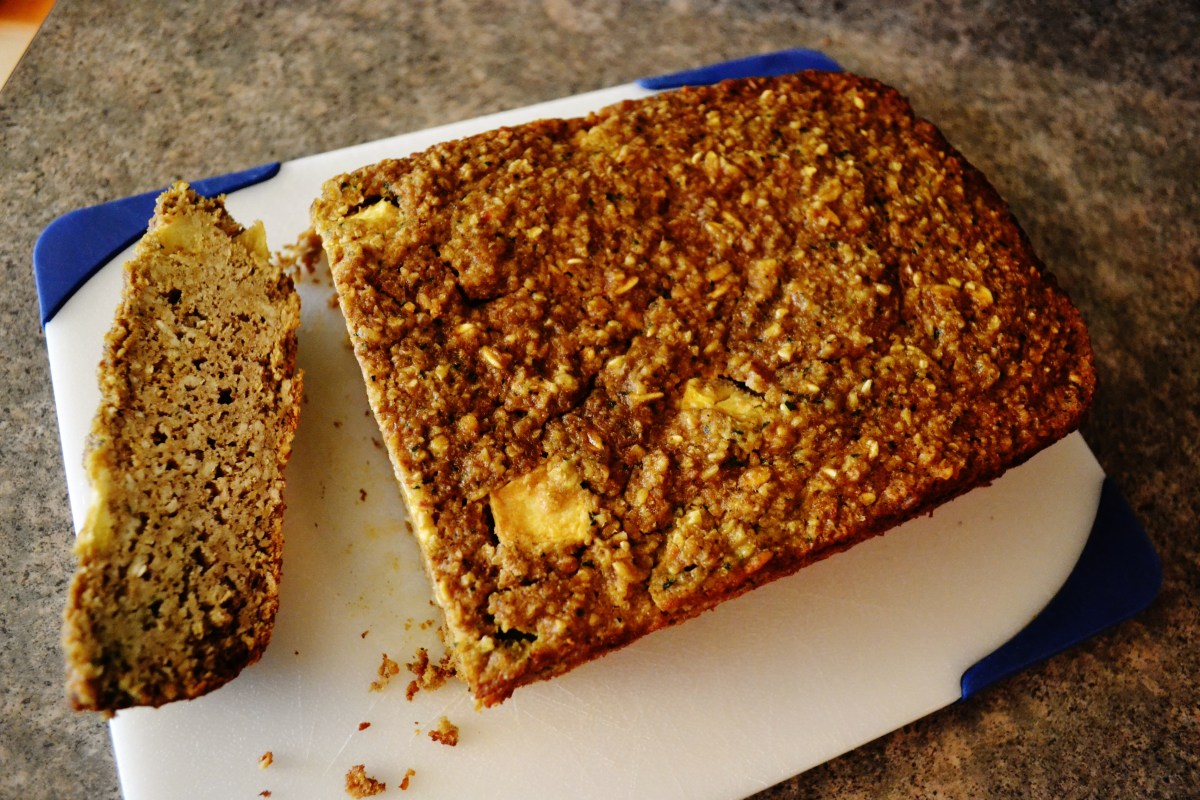 zucchini bread gluten free  living clean and fit