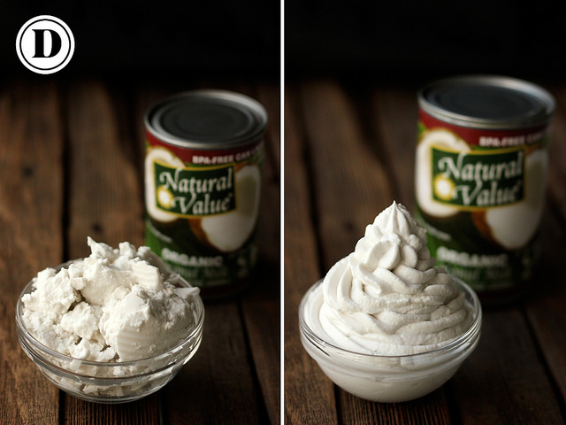 canned coconut milk