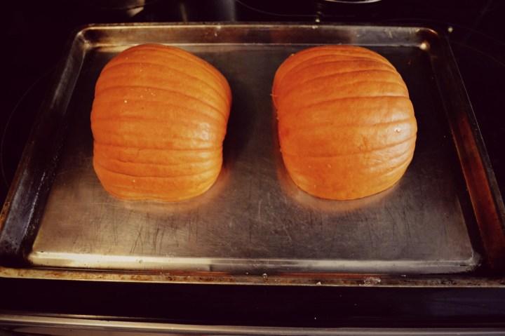 pre cooked pumpkin