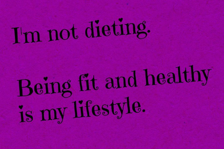 Not dieting