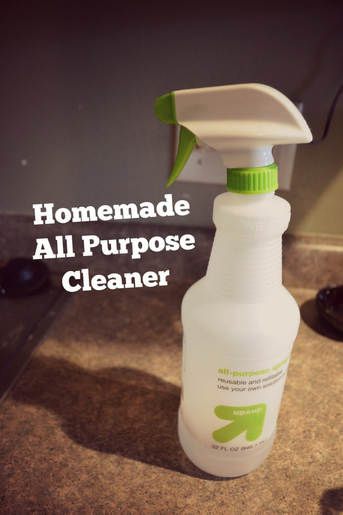 Green and Clean Homemade All Purpose Cleaner