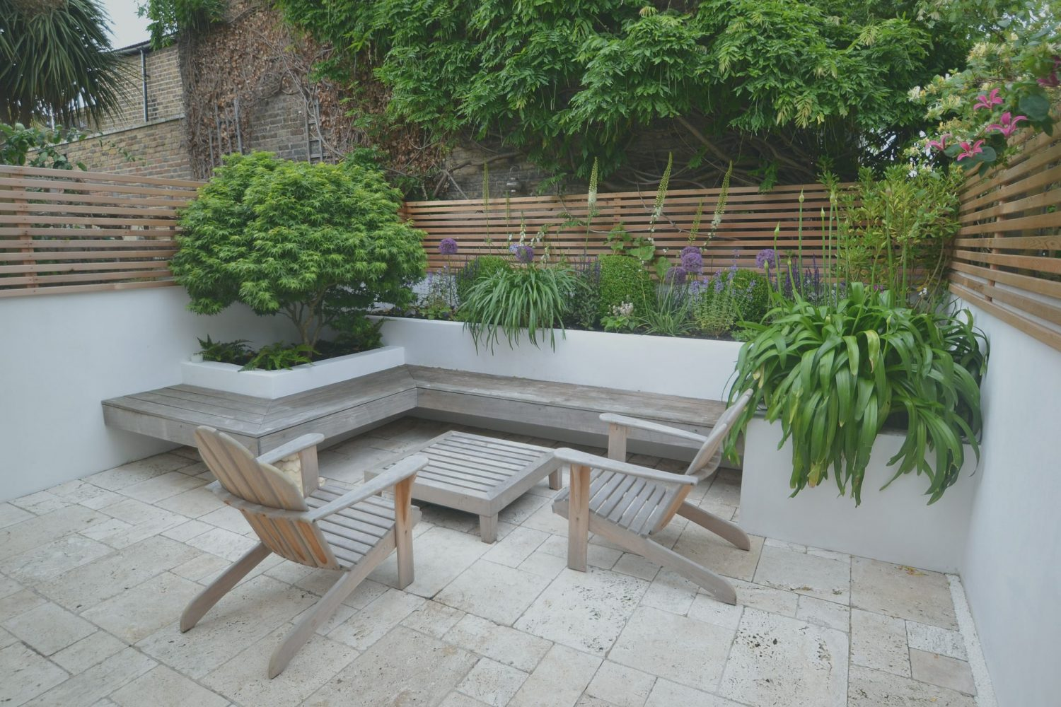 Floating Bench - Living Colour Gardens on Garden And Outdoor Living id=23705