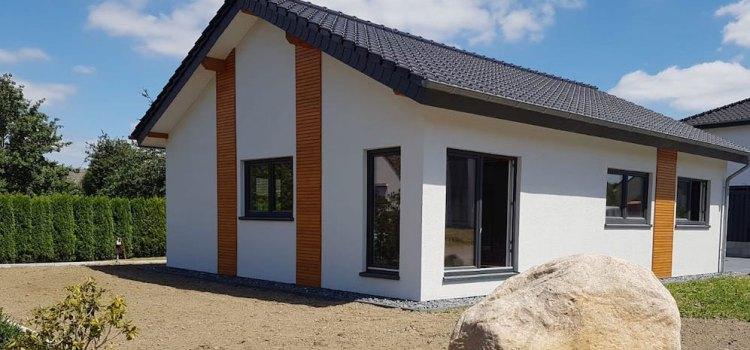 Einfamilienhaus aus drei Modulen