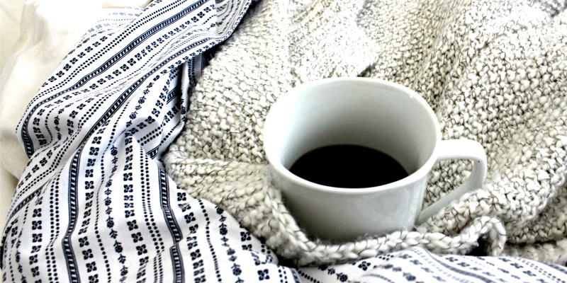 coffee in blankets