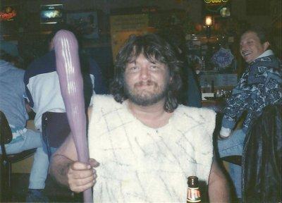 Dad cave man