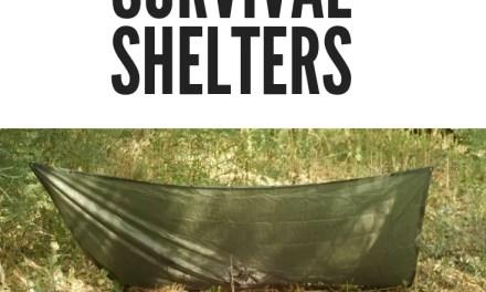 DIY Guide For Building An Emergency Survival Survival Shelter