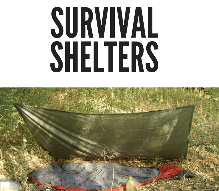 DIY Guide For Building An Emergency Survival Survival Shelter