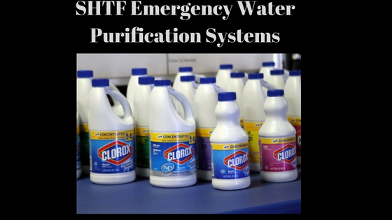 emergency water purification systems