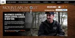 Mountain scout bush craft courses