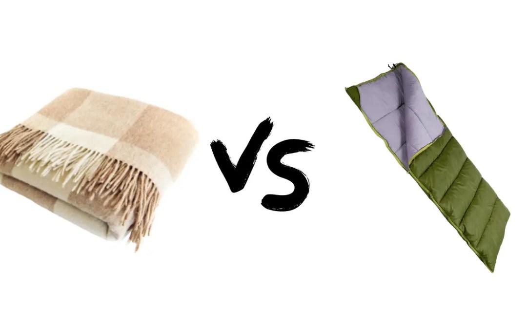 Wool Camping Blanket Vs Sleeping Bag